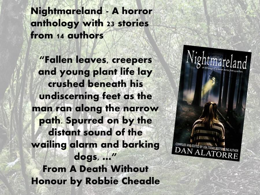 Nightmareland promotion 2